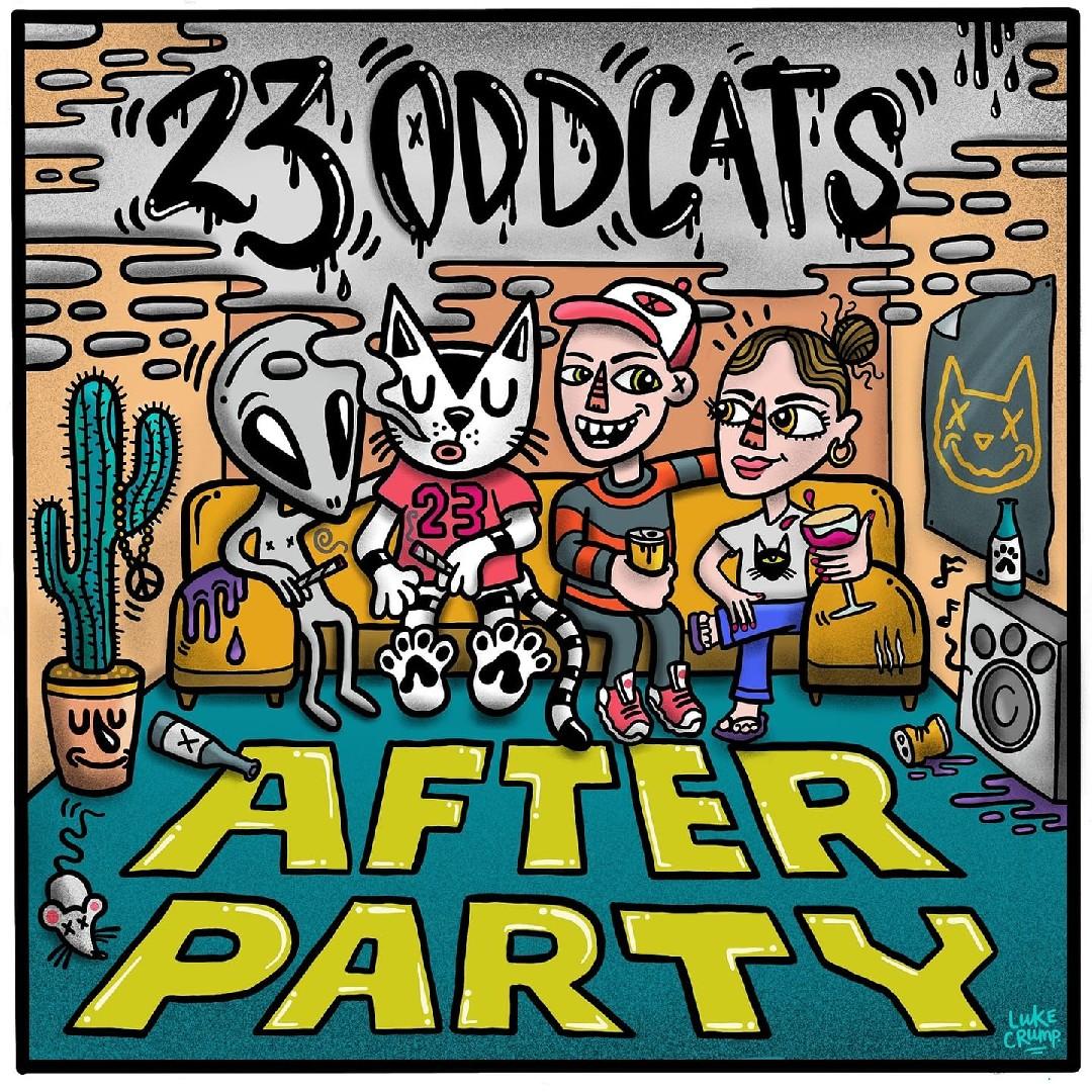 23 Odd Cats