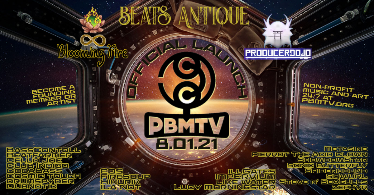 PBMTV Official Launch Party!